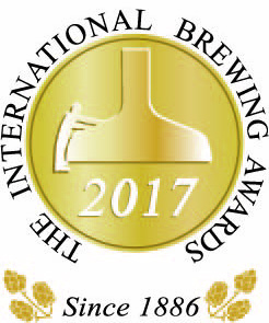 Internatinal Brewing Awards 2017 Strong Ale部門 金賞