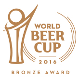 World Beer Cup(WBC) 2016 Dry Stout部門 金賞