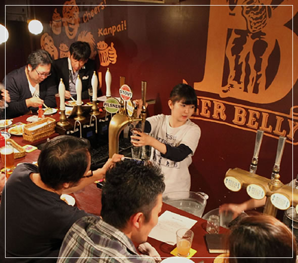 beerbelly天満